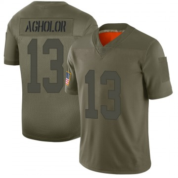 Men's Nelson Agholor Las Vegas Raiders Limited Camo 2019 Salute to Service Jersey