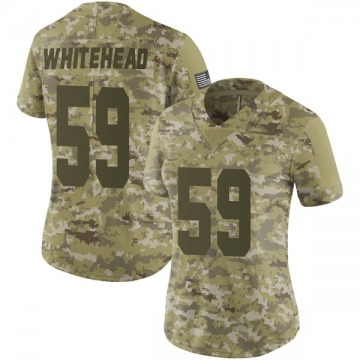 Women's Tahir Whitehead Oakland Raiders Limited Camo 2018 Salute to Service Jersey