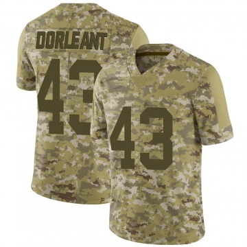 Youth Makinton Dorleant Las Vegas Raiders Limited Camo 2018 Salute to Service Jersey