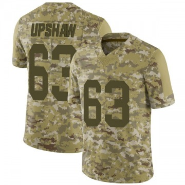Youth Wilson Gene Upshaw Oakland Raiders Limited Camo 2018 Salute to Service Jersey